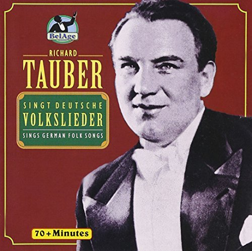Richard Tauber Sings German Folksongs Import Eu