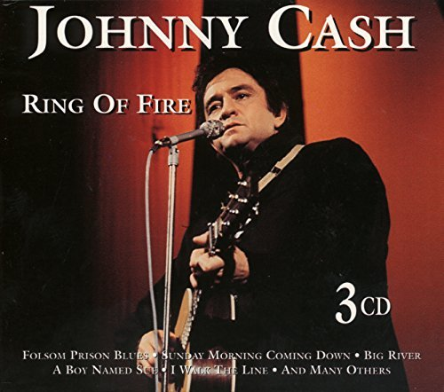 Johnny Cash Ring Of Fire Import Eu 3 CD