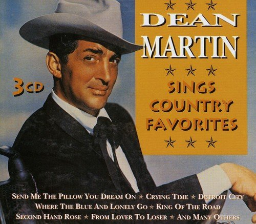 Dean Martin Sings Country Favorites Import Net