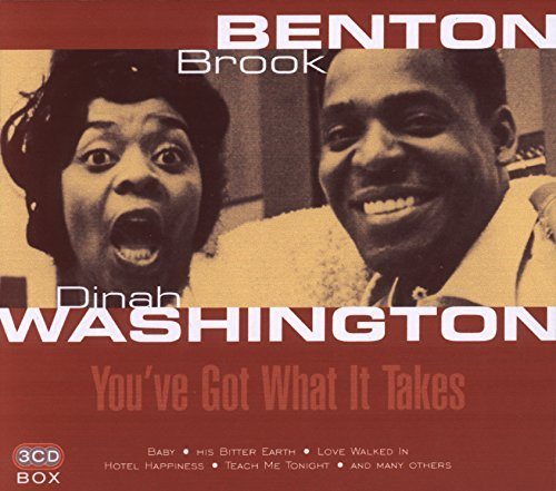 Brook & Dinah Washingto Benton You've Got What It Takes Import Eu 3 CD Set