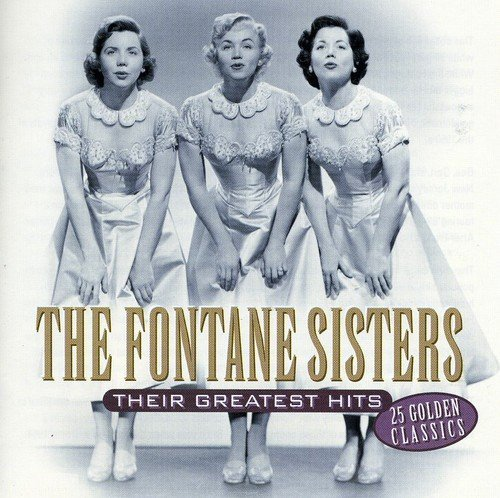 Fontaine Sisters Their Greatest Hits Import Eu