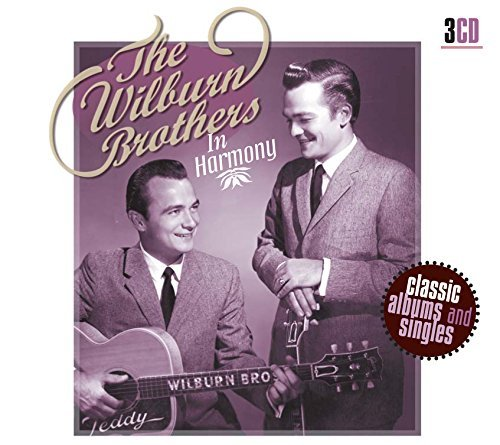 Wilburn Brothers In Harmony Import Eu 3 CD