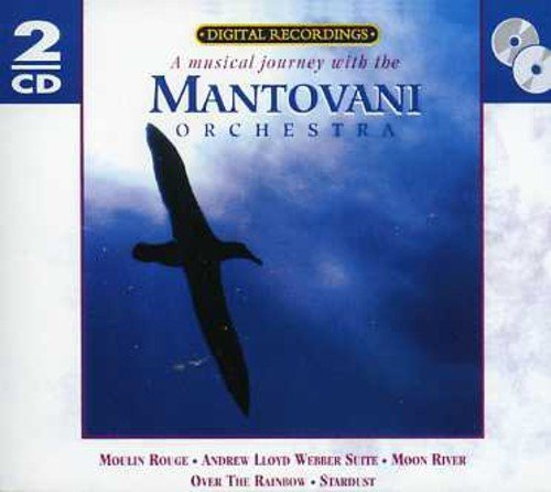 Mantovani Orchestra Musical Journey With The Manto Import Eu 2 CD Set