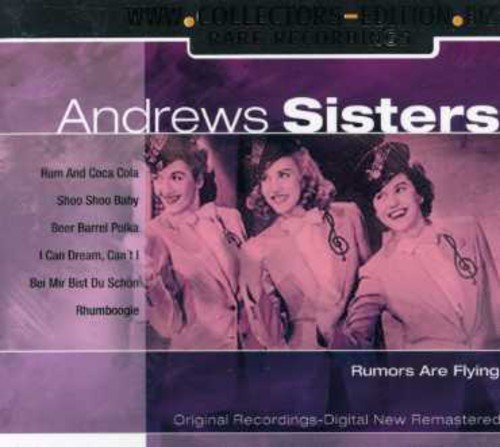 Andrews Sisters Collectors Edition Andrews Import Eu