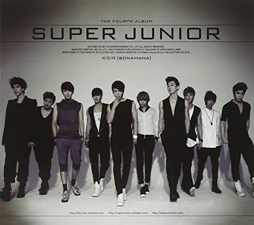 Super Junior 4th Album (repackage) Import Kor