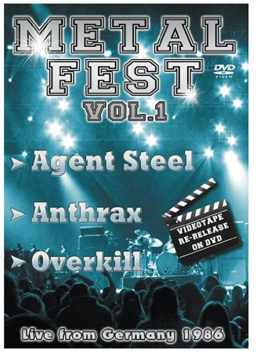 Overkill Anthrax Agent Steel Metal Fest Live From Germany8 Nr