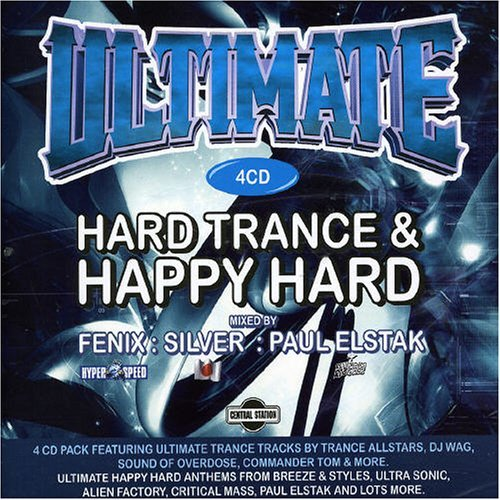 Ultimate Hard Trance & Happy H Ultimate Hard Trance & Happy H Import Aus 4 CD Set