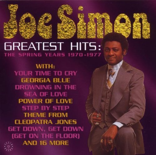 Joe Simon Greatest Hits The Spring Year Import Gbr
