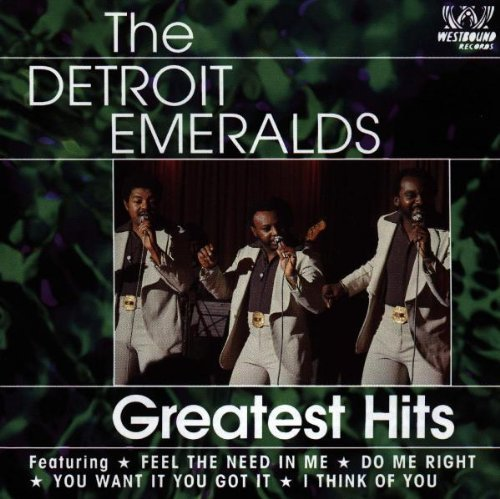 Detroit Emeralds Greatest Hits Import Gbr