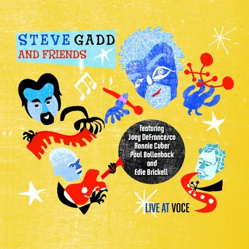 Steve & Friends Gadd Live At Voce