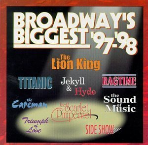 Broadway's Biggest 97 98 Soundtrack Lion King Titanic Ragtime Hdcd Sound Of Music Capeman