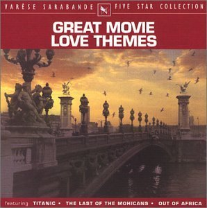 Five Star Collection Great Movie Love Themes Five Star Collection