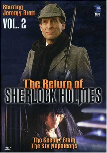 Return Of Sherlock Holmes Vol. 2 Second Stain & Six Napo Clr Nr