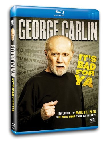 George Carlin Carlin It's Bad For Ya Blu Ray Ws Nr
