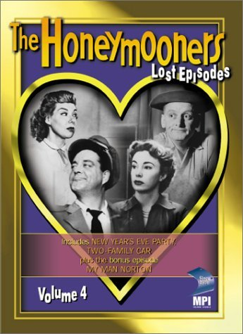 Honeymooners Vol. 4 Lost Episodes Bw Nr Epi. 7 & 8