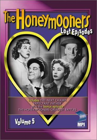 Honeymooners Vol. 5 Lost Episodes Bw Nr Epi. 9 & 10