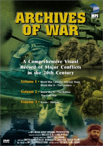Boxed Set Archives Of War Clr Bw Nr