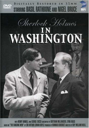 Sherlock Holmes In Washington Rathbone Bruce Bw Nr
