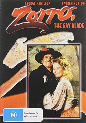 Zorro The Gay Blade (1981) Zorro The Gay Blade Import Aus