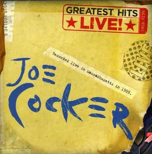 Joe Cocker Greatest Hits Live Import Aus