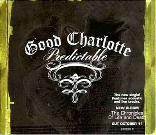 Good Charlotte Predictable Import Aus