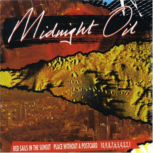 Midnight Oil Red Sails Place Without 1098 Import Aus