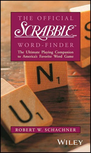 Robert W. Schachner The Official Scrabble Brand Word Finder 0002 Edition;