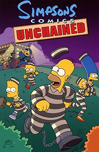 Matt Groening Simpsons Comics Unchained