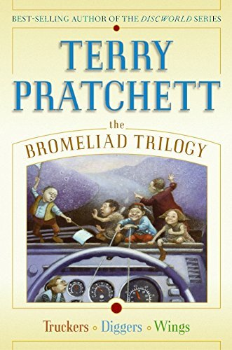 Terry Pratchett The Bromeliad Trilogy Truckers Diggers Wings