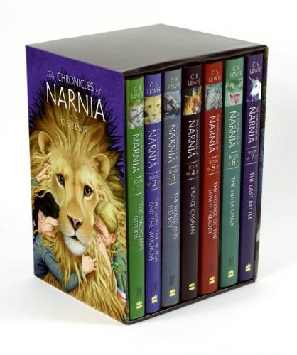 C. S. Lewis The Chronicles Of Narnia Box Set (books 1 To 7) Revised