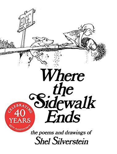 Shel Silverstein Where The Sidewalk Ends Poems And Drawings
