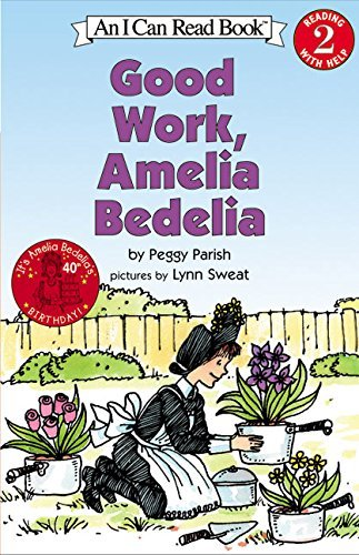 Peggy Parish Good Work Amelia Bedelia