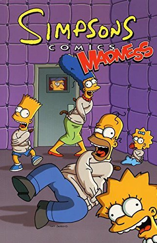 Matt Groening Simpsons Comics Madness!