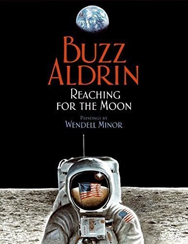 Buzz Aldrin Reaching For The Moon