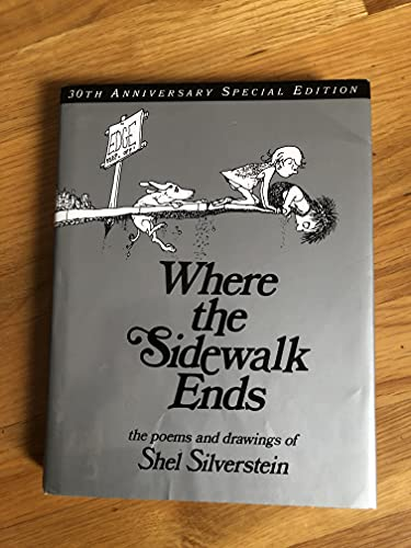 Shel Silverstein Where The Sidewalk Ends Poems & Drawings 0040 Edition;anniversary