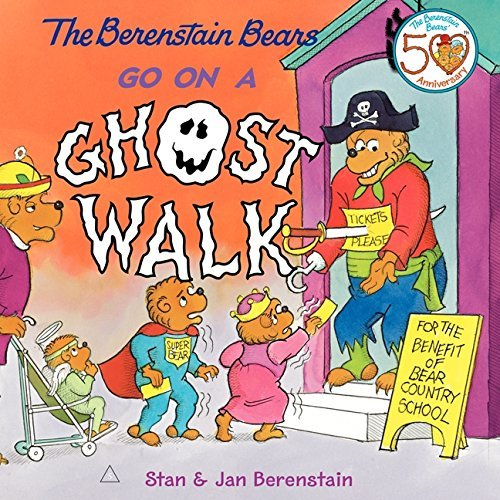 Jan Berenstain The Berenstain Bears Go On A Ghost Walk [with Tatt