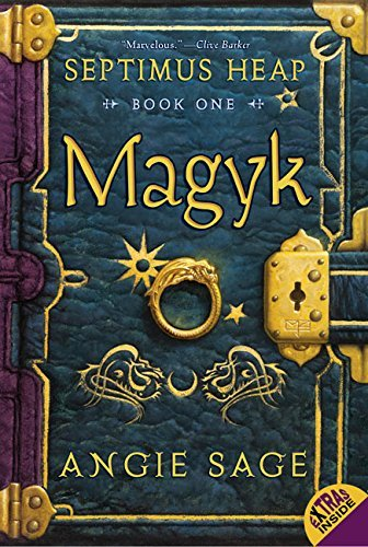 Angie Sage Septimus Heap Book One Magyk