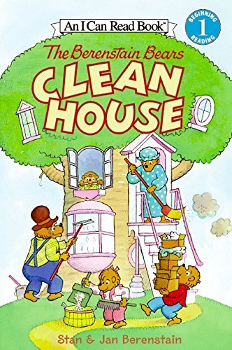 Jan Berenstain The Berenstain Bears Clean House [with Stickers]
