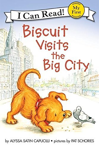 Alyssa Satin Capucilli Biscuit Visits The Big City