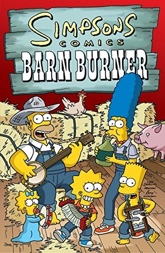 Matt Groening Simpsons Comics Barn Burner