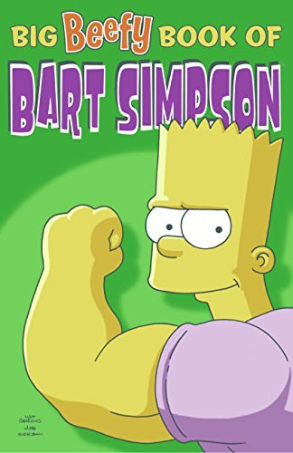 Matt Groening Big Beefy Book Of Bart Simpson