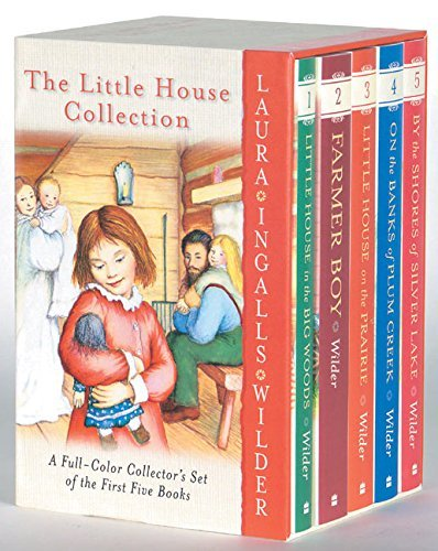 Laura Ingalls Wilder Little House 5 Book Full Color Box Set Books 1 To 5