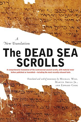 Michael O. Wise The Dead Sea Scrolls Revised Edition A New Translation Revised