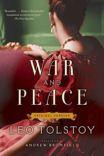 Leo Tolstoy War And Peace Original Version