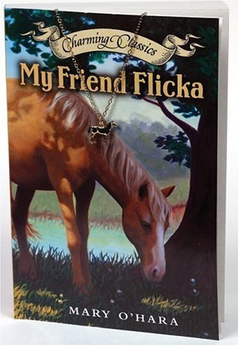 Mary O'hara My Friend Flicka [with Gold Tone Necklace And Hors