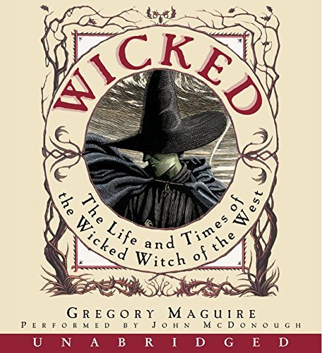 Gregory Maguire Wicked CD