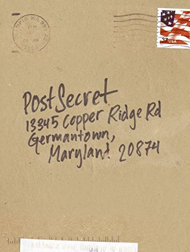 Frank Warren Postsecret Extraordinary Confessions From Ordinary Lives