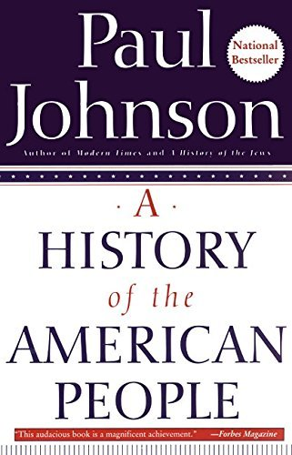 Paul Johnson A History Of The American People