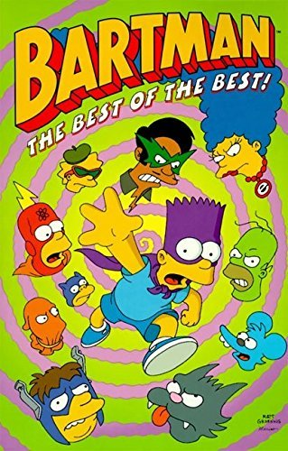 Matt Groening Bartman The Best Of The Best!