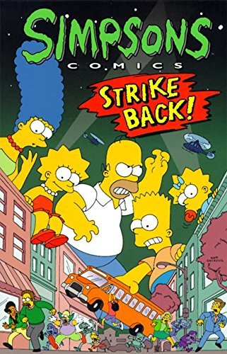 Matt Groening Simpsons Comics Strike Back